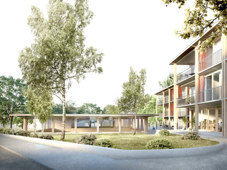 Previev Neubau Gemeindesaal Arlesheim