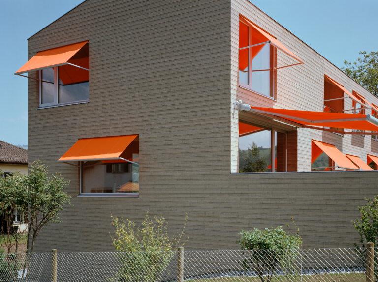Previev Doppelhaus in Holz
